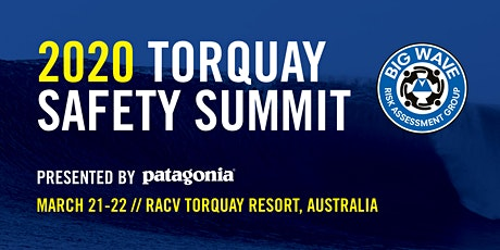 Big Wave Risk Assessment Group Torquay Summit tickets