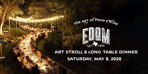 Edom Art Stroll and Long Table Dinner