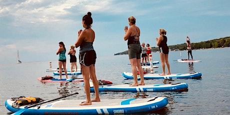 Paddle Board Yoga-45 minutes Vinyasa; 45 Meditation & Restorative on Board tickets