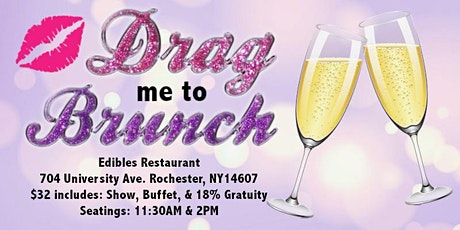 Edibles Restaurant  Drag Me To Brunch tickets