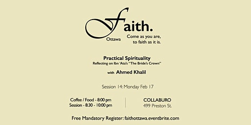 Faith. Ottawa - Practical Spirituality