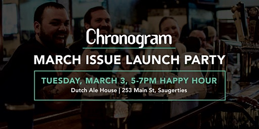 March Chronogram Launch Party
