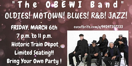 Fayetteville - An Intimate Night of Oldies! Blues! Motown!  Jazz! & Dance! tickets