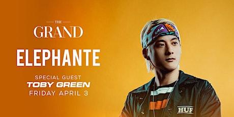 Elephante | The Grand Boston 4.3.20 tickets