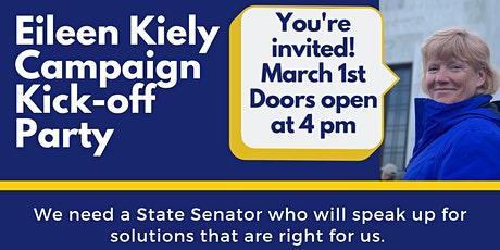Eileen Kiely for Senate District 27 Kick-off Party tickets