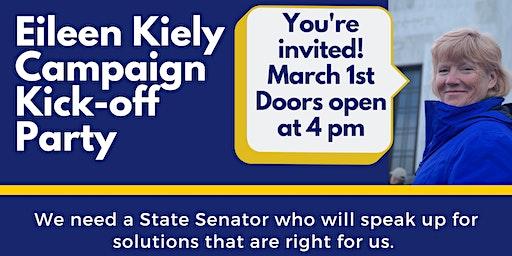 Eileen Kiely for Senate District 27 Kick-off Party
