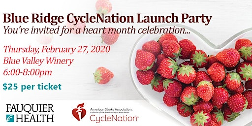 Blue Ridge CycleNation Launch Party
