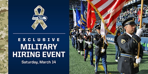 2020 Military Hiring Event Presented by Seattle Seahawks