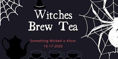 Witches Brew Tea - A spooky Halloween themed tea event