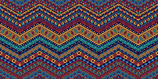 Kente-Inspired Paper Weaving