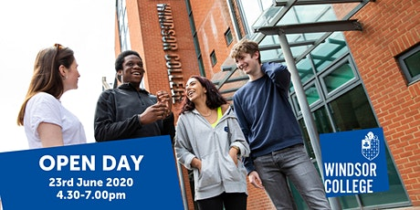 Windsor College Open Day tickets