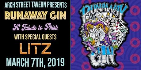 Runaway Gin w/ LITZ at Arch Street Tavern tickets