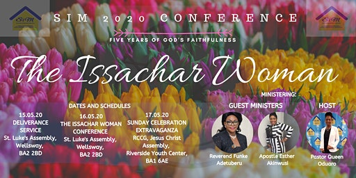 SIM 2020: THE ISSACHAR WOMEN CONFERENCE