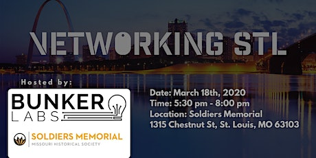 March VetworkingSTL w/ Bunker Labs tickets