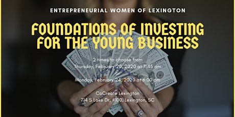 Entrepreneurial Women: Foundations of Investing for the Young Business tickets