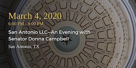 San Antonio LLC—An Evening with Senator Donna Campbell tickets