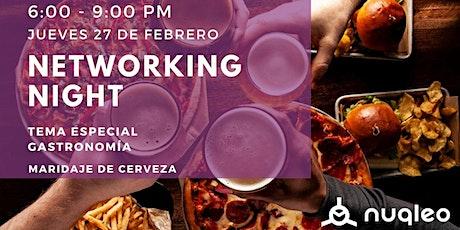 Networking night Vol.1 boletos