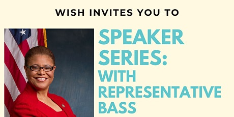 Speaker Series: Rep. Bass tickets