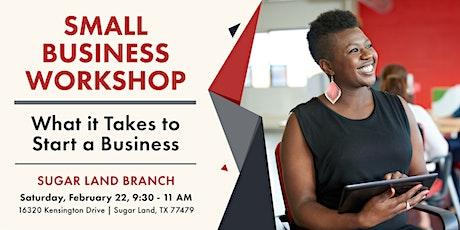 Ready. Set. Start Your Business Seminar tickets
