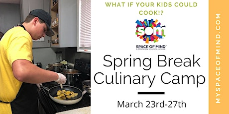 Spring Break Culinary Camp tickets
