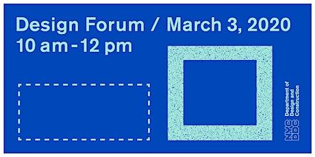 Design Forum  tickets