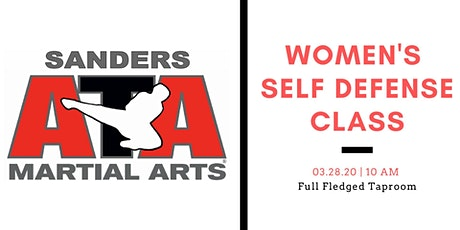 Women's Self Defense Class tickets