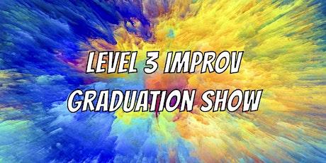 Level 3 Graduation Show tickets