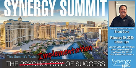SYNERGY SUMMIT:  The IMPLEMENTATION of Success tickets