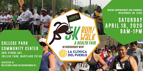 5th Annual SEED 5k Run/Walk and Health Fair tickets