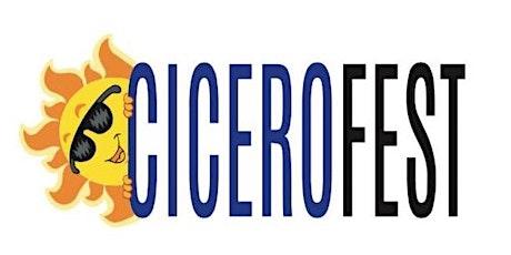 """CiceroFest 2020 Car Show """"Show & Shine"""" Registration tickets"""