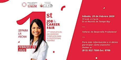 UAGM Tampa Bay 1st Career & Job Fair for the Hispanic Professionals tickets