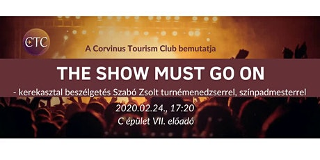 The show must go on tickets