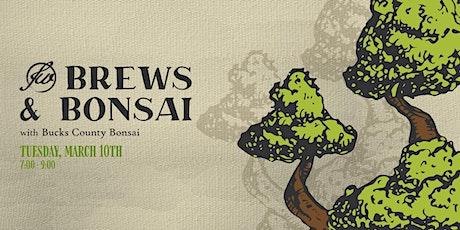 Brews & Bonsai Workshop tickets