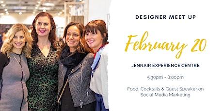 Designer Meet ups tickets