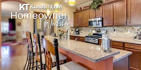 Homeowner Workshop tickets