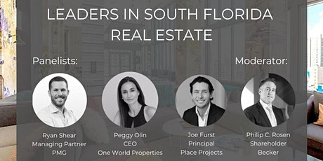 People to Watch: Young Leaders in South Florida Real Estate tickets