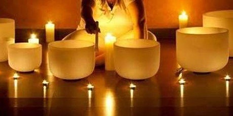 Candle light crystal singing Bowl  meditaion tickets