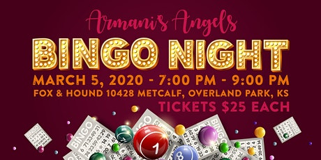 Armani's Angels KC Bingo Night tickets