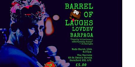 Barrel of Laughs Presents Lovdev Barpaga tickets