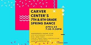 2020 7th and 8th Grade Spring Dance