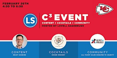 C3: Content + Cocktails + Community tickets