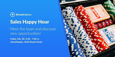 DroneDeploy Sales Happy Hour tickets