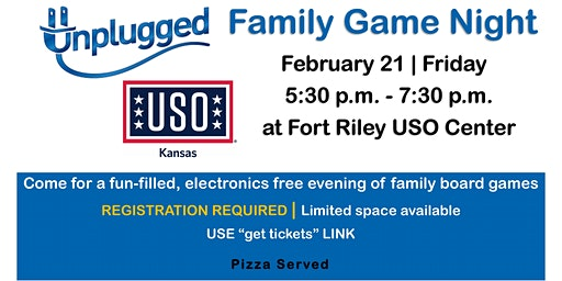 Unplugged Family Game Night | February 21