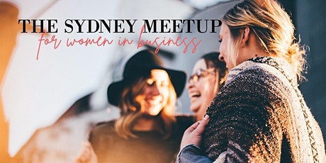 The Sydney Meetup For Women In Business tickets