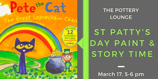 St. Patty's Day Paint & Story Time