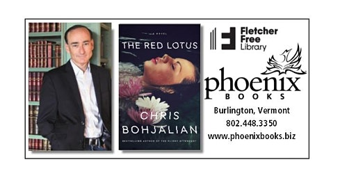 Chris Bohjalian: The Red Lotus Book Tour presented by Phoenix Books
