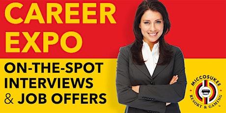 Miccosukee Resort & Gaming Career Expo tickets