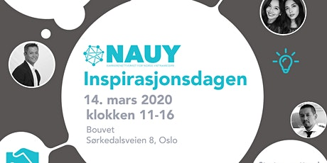 Nauy - inspirasjonsdagen 2020 tickets