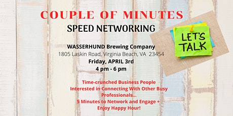 Couple of Minutes Speed Networking tickets