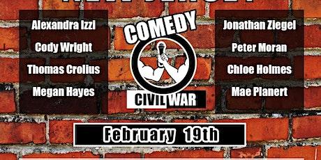 Comedy Civil War: NYC v NJ tickets